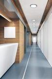 Pasillo del edificio de oficinas moderno Foto de archivo libre de regalías
