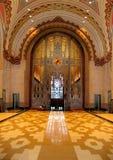 Pasillo del edificio del guarda Fotografía de archivo libre de regalías
