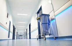 Pasillo del hospital Imágenes de archivo libres de regalías