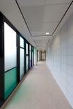 Pasillo del hospital Imagen de archivo libre de regalías