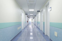 Pasillo del hospital Fotografía de archivo