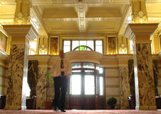 Pasillo del hotel Foto de archivo