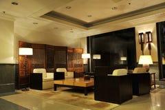 Pasillo del hotel Imagen de archivo