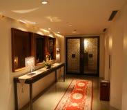 Pasillo del hotel Imagen de archivo libre de regalías