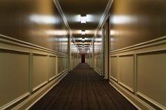 Pasillo del hotel Foto de archivo libre de regalías