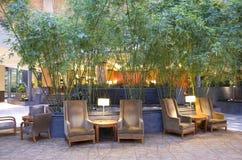 Pasillo del hotel de Hyatt magnífico Bellevue Foto de archivo libre de regalías
