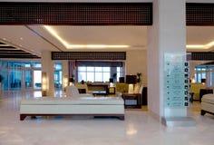 Pasillo del hotel de lujo Foto de archivo libre de regalías