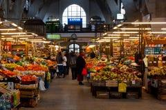 Pasillo del mercado Fotografía de archivo libre de regalías