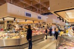 Pasillo del mercado de Ostermalm Imágenes de archivo libres de regalías