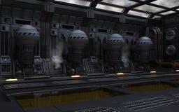 Pasillo del motor de Terraformer imagenes de archivo