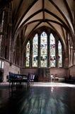 Pasillo del norte del coro, Chester Cathedral, Chester, Reino Unido fotografía de archivo libre de regalías