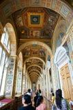 pasillo del palacio del invierno foto de archivo libre de regalías