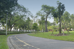 Pasillo del parque Imagen de archivo