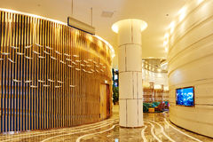 Pasillo del pasillo del hotel Foto de archivo libre de regalías