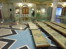 Pasillo del rezo de Kul Sharif Mosque Fotos de archivo libres de regalías