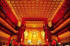 Pasillo del rezo en templo Imagen de archivo libre de regalías