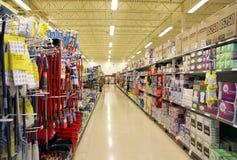 Pasillo del supermercado de Loblaws Fotografía de archivo libre de regalías