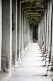 Pasillo del templo Imágenes de archivo libres de regalías