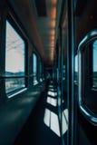 Pasillo del tren Fotos de archivo