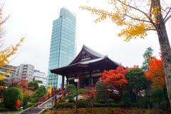 Pasillo del unkaku de Ji, templo de Zojoji imágenes de archivo libres de regalías
