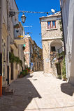 Pasillo. Deliceto. Puglia. Italia. imagen de archivo
