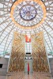 Pasillo dentro de la bóveda del museo bielorruso del gran patriótico Foto de archivo