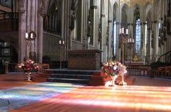Pasillo divino de los Dom de Kölner Imagen de archivo