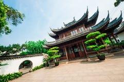 Pasillo en el jardín de Yu Imagen de archivo libre de regalías