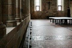 Pasillo en el santo Michael Abbey Fotos de archivo libres de regalías