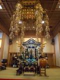 Pasillo en el templo de Zojoji, Tokio, Japón imagenes de archivo