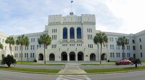 Pasillo en enlace, la ciudadela, Charleston, SC imágenes de archivo libres de regalías