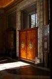 Pasillo en los museos de Vatican Foto de archivo libre de regalías