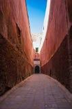 Pasillo en Medina Marrakesh Marruecos imagenes de archivo