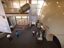 Pasillo en museo de espacio de Hong-Kong Fotos de archivo