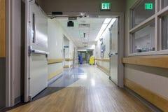 Pasillo en un hospital moderno Imagen de archivo