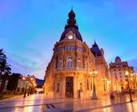 Pasillo España de Ayuntamiento de Cartagena Murciacity Foto de archivo