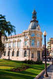 Pasillo España de Ayuntamiento de Cartagena Murciacity Fotografía de archivo