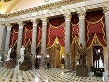 Pasillo estatuario nacional Foto de archivo libre de regalías