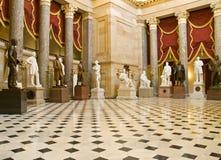 Pasillo estatuario nacional Fotos de archivo