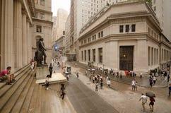 Pasillo federal en Wall Street Foto de archivo libre de regalías