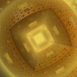 Pasillo futurista Imagen de archivo libre de regalías