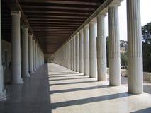 Pasillo griego Imágenes de archivo libres de regalías