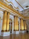 Pasillo heráldico del palacio del invierno imágenes de archivo libres de regalías