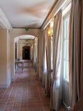 Pasillo interior histórico Fotografía de archivo