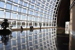 Pasillo magnífico en teatro de la ópera del nacional de Pekín Fotos de archivo