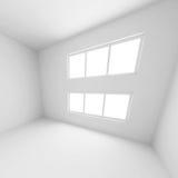 Pasillo moderno blanco Imagen de archivo libre de regalías