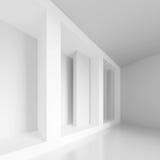 Pasillo moderno blanco Fotos de archivo