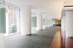 Pasillo moderno de la oficina Imagen de archivo libre de regalías