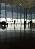 Pasillo moderno del aeropuerto Imagenes de archivo