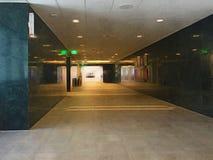 Pasillo oscuro del hospital Fotografía de archivo libre de regalías